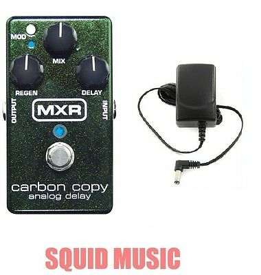 MXR Carbon Copy Analog Delay Guitar Effects Pedal M-169 ( FREE ADAPTER ) M169  • 107.68£
