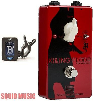 Seymour Duncan Killing Floor High Gain Boost Guitar Pedal ( FREE DUNLOP TUNER )  • 116.30£