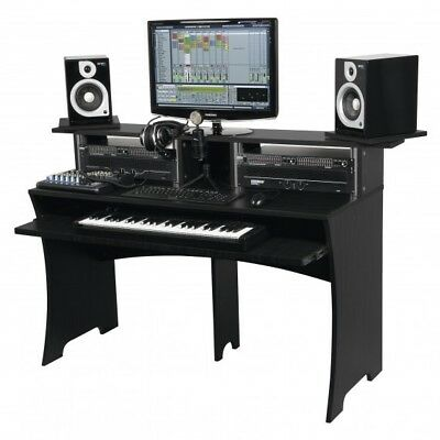 Glorious Workbench Black - Work Station Desk Bench For Music Production Studio • 349£