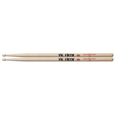 Vic Firth American Classic Hickory Wood Tip DrumSticks 5A • 12£