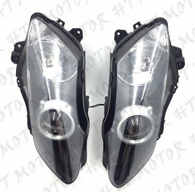 Left Right Headlight Head Lamp Assembly Fit For Yamaha YZF R1 YZF-R1 2007 2008 • 46.60£