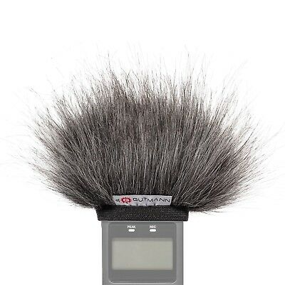 Gutmann Microphone Fur Windscreen Windshield For Tascam DR-22WL Grey • 29.90£