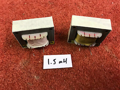 Pair Vintage TANNOY Speaker Crossover Inductors 1.5mH Gold HPD 8 Ohm (707/708) • 36£