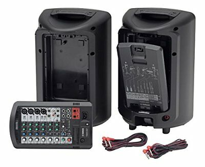 YAMAHA YAMAHA / STAGEPAS 400 BT [4 Wireless Microphones] Portable PA System • 1,158.28£