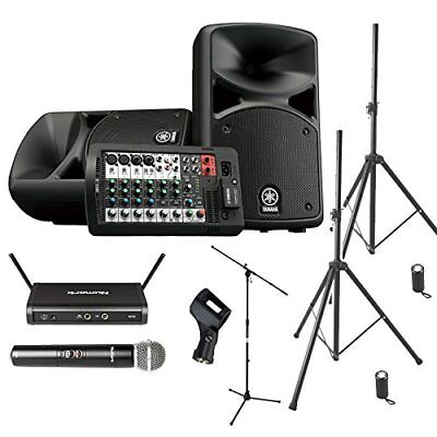 YAMAHA STAGEPAS 400 BT Event Hosting ? Speaker Set For Playing Back �yWireless • 981.05£