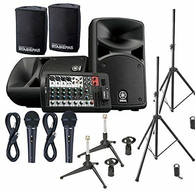 YAMAHA STAGEPAS 400 BT (with Cover) Conference ? Presentation Speaker Set �y2 M • 1,002.15£