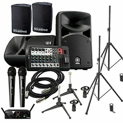 YAMAHA STAGEPAS 400 BT (with Cover) Conference ? Presentation Speaker Set �y2 W • 1,244.78£