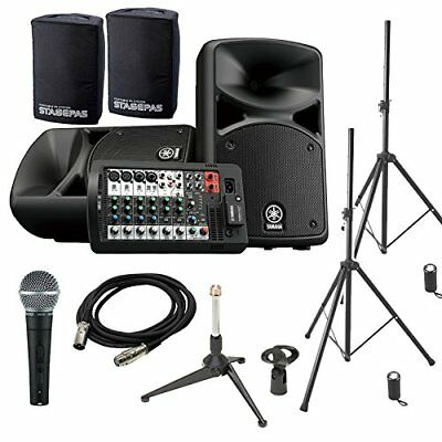 YAMAHA STAGEPAS 400 BT (with Cover) Conference ? Presentation Speaker Set �ySHU • 1,107.64£