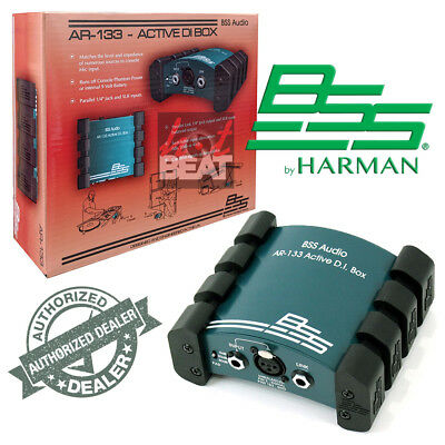 BSS AR133 Premium Active Direct Box Line Balancer For Keyboards Guitars Console • 129.32£