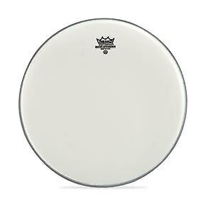Remo 18  Coated Smooth White Ambassador Batter Drumhead • 17.29£