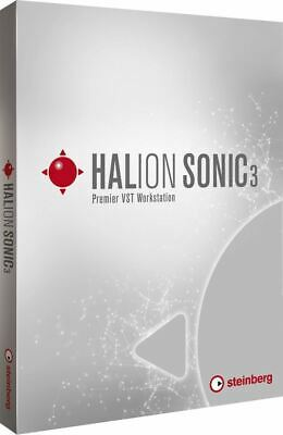 New Steinberg Halion Sonic 3 VST Workstation VST3 AU AAX Software EDelivery • 191.05£