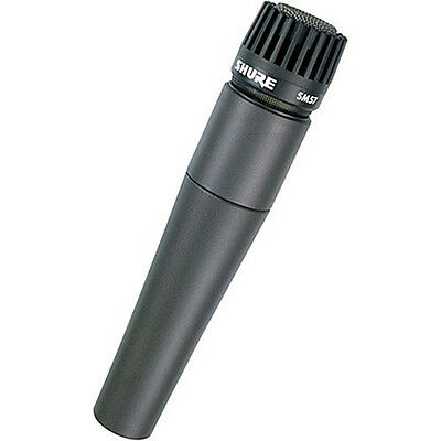 Shure SM57-LC Cardioid Dynamic Microphone • 74.19£