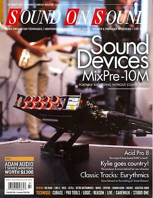 Sound On Sound July 2018 Recording Technology Magazine Sound Devices MixPre-10M • 8.28£