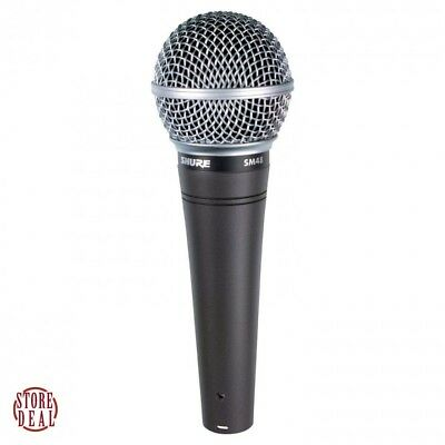 Vocal Microphone Dynamic Cardioid Singing Voice Karaoke Wired Mic Shure SM48 LC • 38.55£
