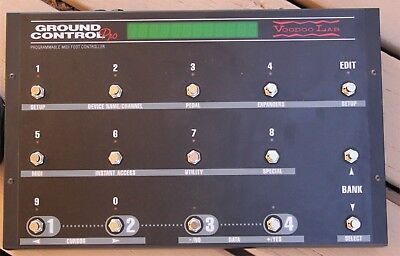 Voodoo Lab Ground Control Pro - Get Total Control Of Your Guitar Rig. • 186£