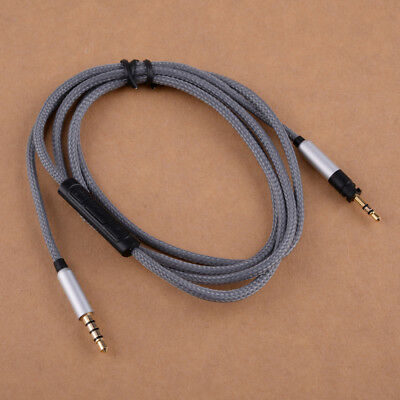 Audio Cable Mic Volume Fit For Sennheiser HD4.30i HD4.40 BT HD 4.50 BTNC HD4.30G • 11.33£