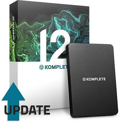 Native Instruments Komplete 12 (UPDATE From Komplete 2-11) • 85£