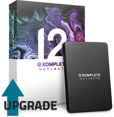 Native Instruments Komplete 12 Ultimate UPGRADE Select 11/12 FREE K13U UPDATE • 419£