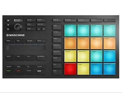 Native Instruments Maschine Mikro Mk3 -Pad Performance Controller + DAW Software • 194£