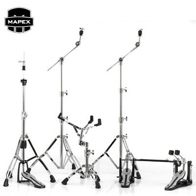 Mapex MARS Series HP6005-DP 5-Piece Hardware Pack With Double Bass Drum Pedal Ch • 327.33£