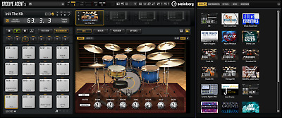 New Steinberg DAC Groove Agent 5 Drum Plug-In Retail VST/AAX/AU Mac/PC EDelivery • 137.19£