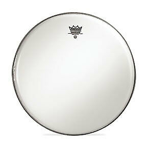 Remo 18  Smooth White Ambassador Bass Crimplock Drumhead • 28.93£