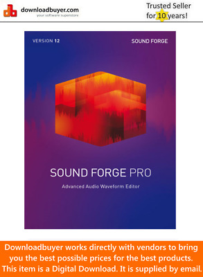 MAGIX Sound Forge Pro 12 - [Download] • 224.99£
