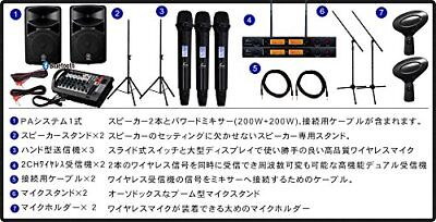 (With Three Wireless Microphones) YAMAHA YAMAHA STAGEPAS 400 BT + Easy To Operat • 2,002.90£