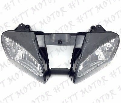 New Front Black Head Light Lamp For 2006-2007 Yamaha YZF-R6 YZFR6 R6 06 07 USA • 34.18£