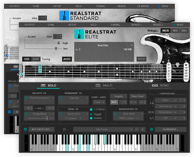 New MusicLab RealStrat 5 Real Strat  Virtual Instrument VST Software EDelivery • 107.61£