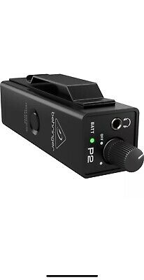 NEW Behringer Powerplay P2 Ultra-Compact In-Ear Monitor Amplifier Headphone Amp  • 49.88£