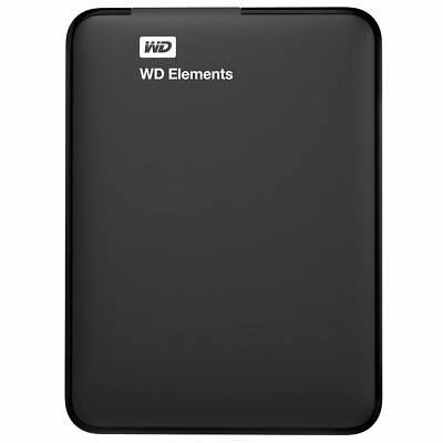 WD Elements Portable External Hard Drive USB 3.0 For WINDOWS PC MAC XBOX ONE PS4 • 62.95£