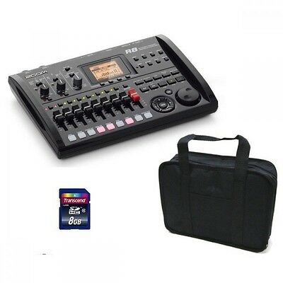 ZOOM R8 + General Soft Case + SDHC/8GB Multi Track Recorder/Audio Interface NEW • 179.31£