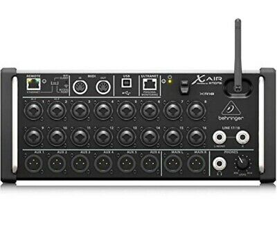 Behringer X Air XR18 18-Input Digital Mixer For IPad/Android Tablet Brand New • 480£