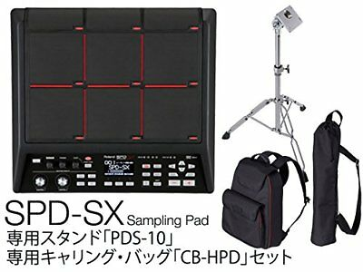 Roland SPD-SX Sampling Percussion Pad For Sound Music W/Stand & Carry Bag Japan • 1,209.75£