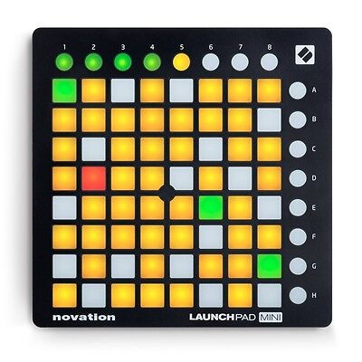 New Novation MK2 Performance Controller Launchpad Mini Japan With Tracking • 122.81£