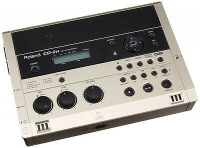 Roland Portable SD / CD Recorder Built-in Condenser Microphone CD-2u From Japan • 585.97£