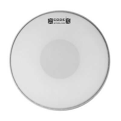 Code Sterling Coated Snare Drum Heads 13  Or 14  Free Shipping • 18.32£