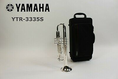 Trumpet Yamaha YTR 3335S Silver Plated Brand New Free Shipping • 686.19£
