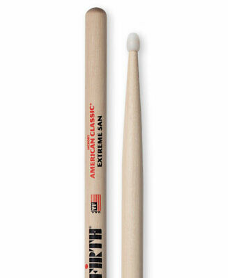 Vic Firth Drumsticks 5a Or X5 Nylon Tip American Classic Hickory-free Post • 13.19£