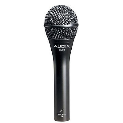 Audix OM2 Dynamic Cable Professional Microphone • 77.67£