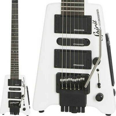 Spirit By STEINBERGER GT-PRO Deluxe White Electric Guitar Fast Ship Japan EMS • 375.78£