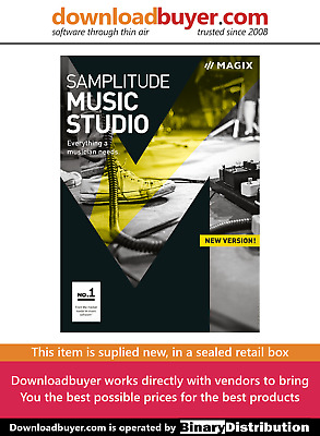 Magix Samplitude Music Studio 2017 - UK Version - For Windows • 29.99£
