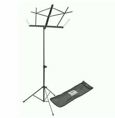 On-Stage SM7122BB Compact Sheet Music Stand With Bag, Black • 13.78£