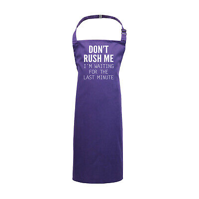 Funny Kids Childrens Kitchen Art Craft Apron - Dont Rush Me Im Waiting For The L • 9.99£