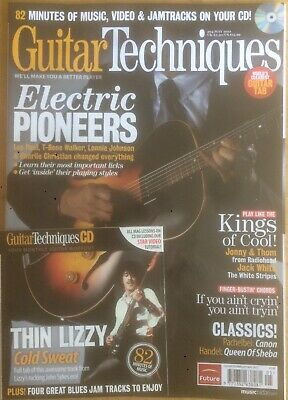 Guitar Techniques magazine & CD: May 2012