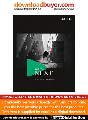 MAGIX Acid Pro Next - For PC - [Download] • 224.99£