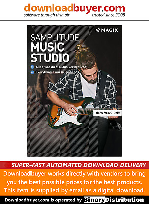 MAGIX Samplitude Music Studio 2020 - For PC - (Approved Digital Download) • 64.99£