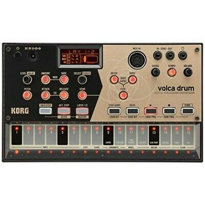 KORG Volca Drum Digital Percussion Synthesizer Brand-new Free Shipping • 270.95£