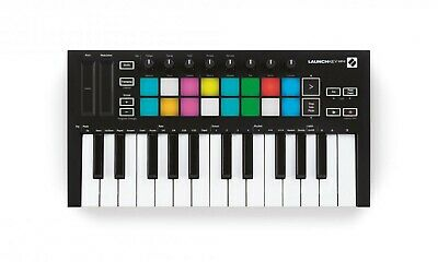 Novation Launchkey Mini Mk3 25 Note Keyboard Controller With Ableton Live Lite • 99£